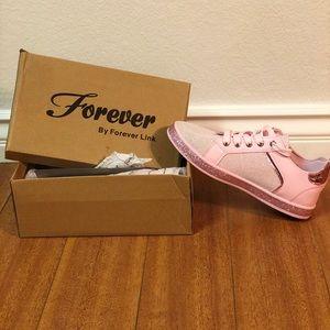 Forever Link Pink Glitter Shoes! 💓💝💞